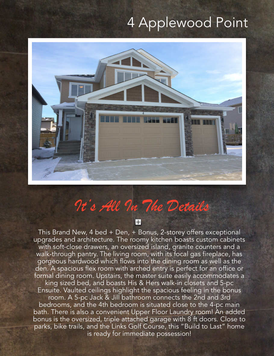 spruce grove senior singles For sale: $369,900 - single family, 3 bed, 3 bath, 1,348 sqft at 2 heatherglen dr n in grove seniors village over 1,300 square foot 3 bedroom home with 2 1/2 bathrooms and a double attached garage in the ultra desirable area of heatherglen in spruce grove.